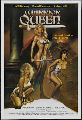 Warrior Queen (1987, Italy / UK / USA) movie poster