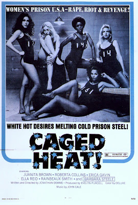 Caged Heat (1974, USA) movie poster