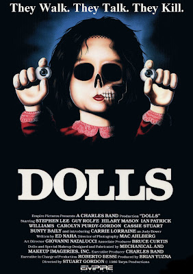 Dolls (The Doll) (1987, USA) movie poster