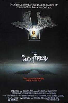Deadly Friend (1986, USA) movie poster