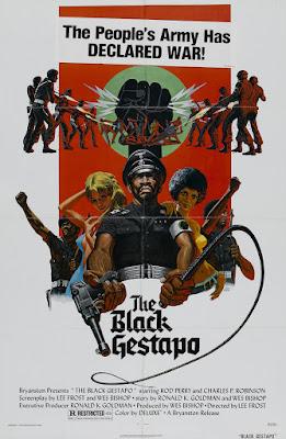 The Black Gestapo (aka Ghetto Warriors) (1975, USA) movie poster