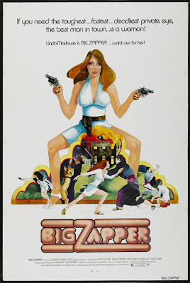 Big Zapper (1973, UK) movie poster