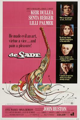De Sade (1969, USA / Germany) movie poster