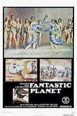 The Fantastic Planet (La Planète sauvage / The Savage Planet) (1973, France / Czechoslovakia) movie poster