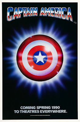 Captain America (1990, USA / Yugoslavia) movie poster
