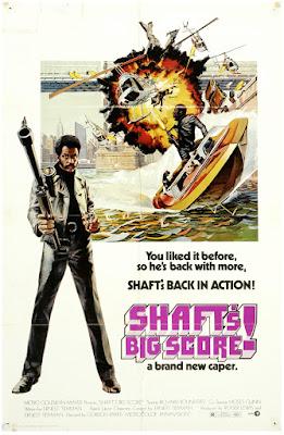 Shaft's Big Score! (1972, USA) movie poster