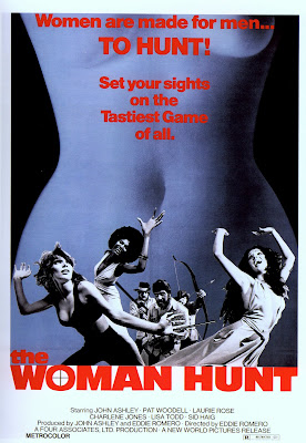 The Woman Hunt (1973, USA / Philippines) movie poster