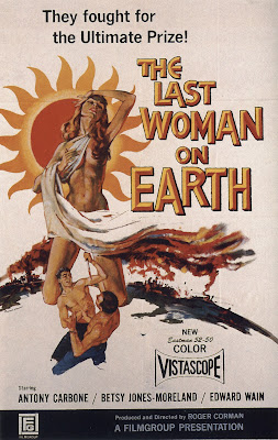 Last Woman on Earth (1960, USA) movie poster