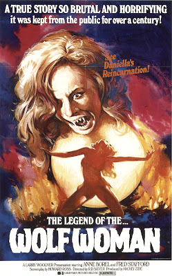 The Legend of the Wolf Woman (La Lupa mannara / Werewolf Woman) (1976, Italy) movie poster