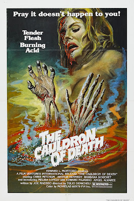 Cauldron of Death (Ricco, aka Ricco the Mean Machine) (1973, Italy / Spain) movie poster