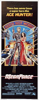 Megaforce (1982, USA / Hong Kong) movie poster