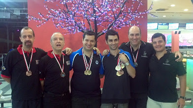 Photo: Pódio das duplas masculinas 1.ª divisão (Celso Azevedo, Franz Monteiro, Igor Pizzoli, Renan Zoghaib, Marco Túlio e Daniel Murta)
