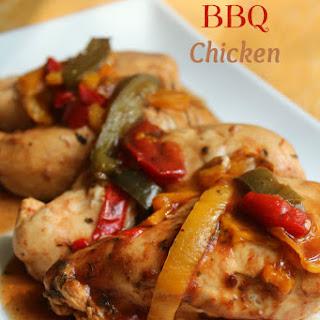 Slow Cooker BBQ Chicken.