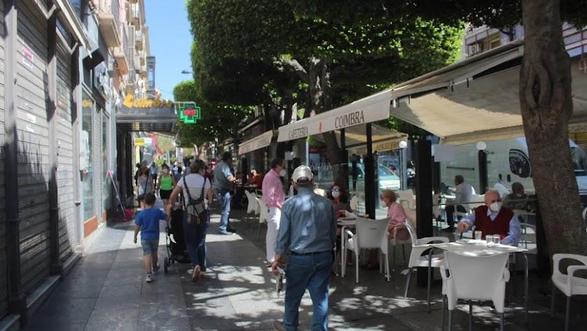 Almería vive sus peores días de la pandemia.