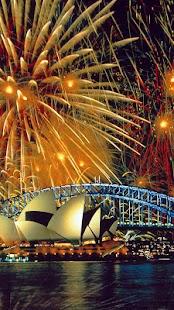 Fireworks Live Wallpaper Screenshots
