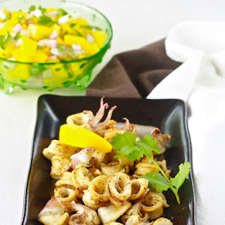 Grilled Calamari with Cumin.