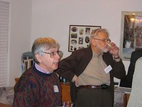 Photo: UCI Professor Bernie Grofman and Duncan Luce