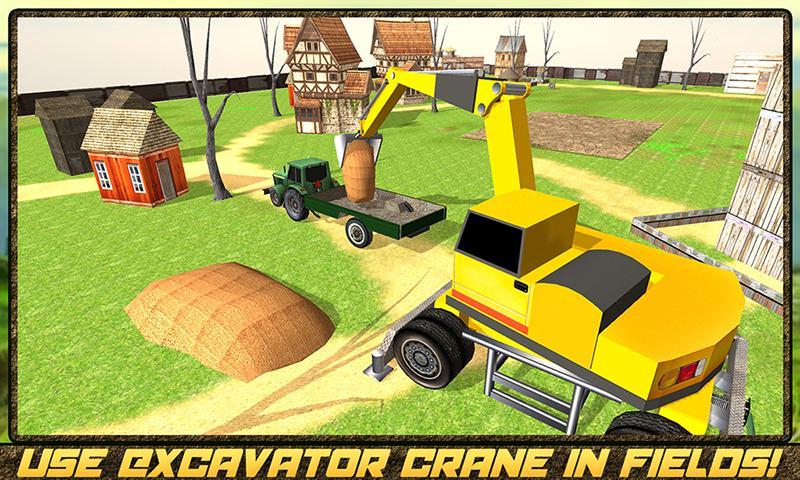 android Hay Farm Plow Truck Driver Screenshot 2