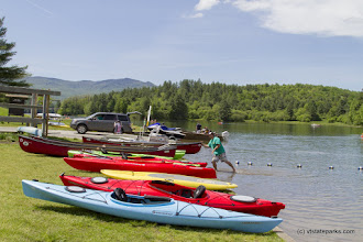 Photo: Lots of different boating options at Waterbury Center State Park by Karalyn Mark