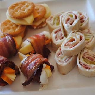 Ham & Dill Spirals