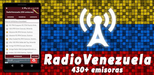 5e8922e0de580 RadioVenezuela - 500 radios de Venezuela en vivo - Aplicaciones en Google  Play