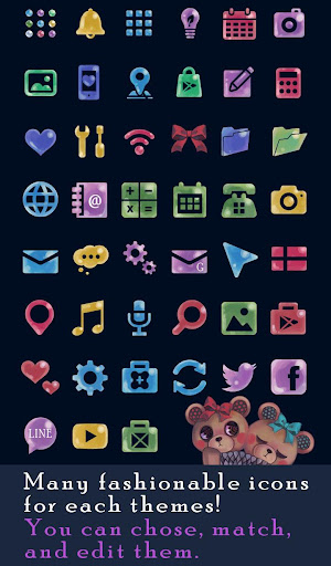 Cute wallpaper-Nighttime Bears 1.0.0 Windows u7528 4