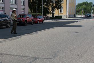 Photo: Centrum miasta wyłączone z ruchu.