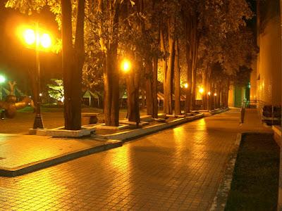 夜裡的虎尾校區