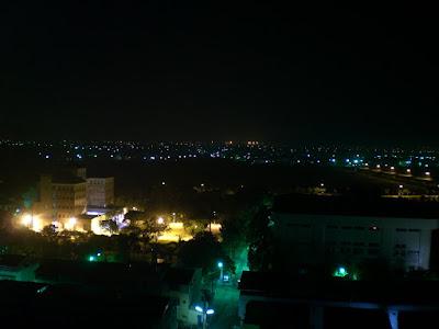 虎尾的夜景