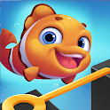 Save The Fish - Pull Him Out Puzzle icon