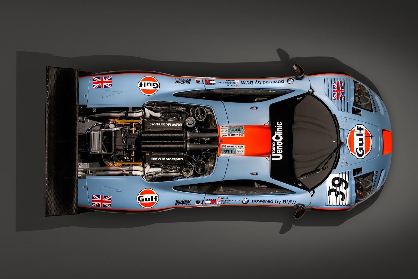 McLaren F1 GTR Longtail 025R