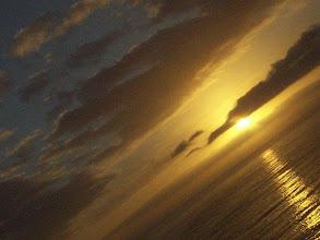 Photo: Golden Misty Cliff's sunset, Scarborough, cape Town