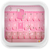 Pink Theme Keyboard