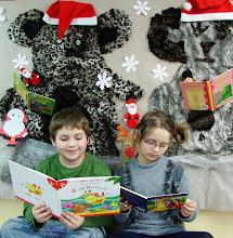 Photo: Ala i Patryk lubią czytać książki - konkursowe foto  Sandry