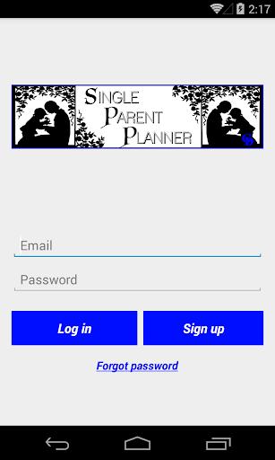SPP Single Parent Planner