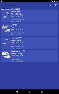 Just The Weather for PC-Windows 7,8,10 and Mac apk screenshot 7