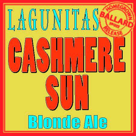 Logo of Lagunitas Cashmere Sun Blonde Ale