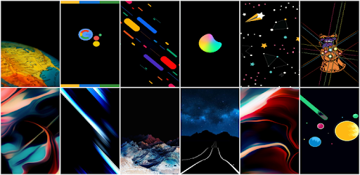 🌟 Super AMOLED Wallpapers & Backgrounds for Home Screen or Lock Screen 🌟