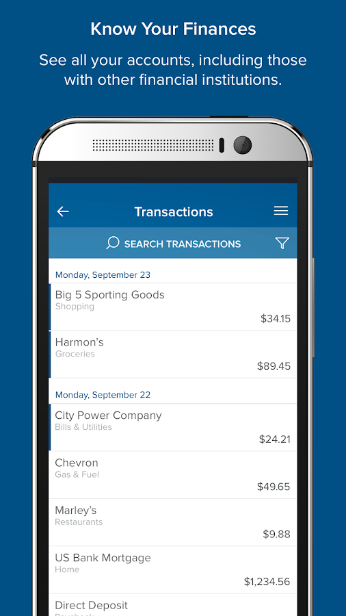 America First Mobile Banking- screenshot