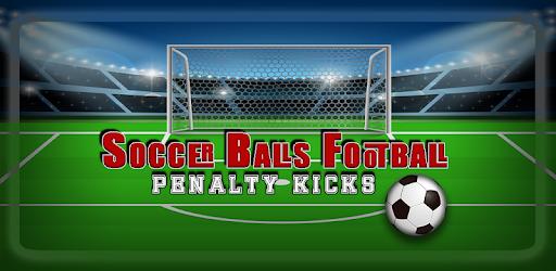 Soccer Balls Football Penalty Kicks captures d'écran