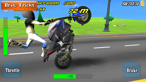 Freestyle King - Motorbike freestyle  bike stunts apktreat screenshots 1