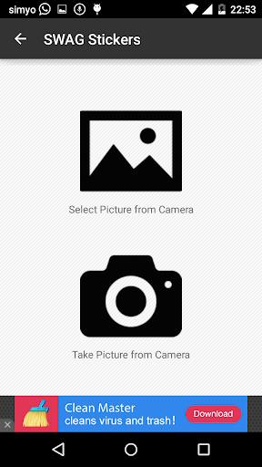 玩免費攝影APP|下載SWAG照片貼紙 app不用錢|硬是要APP