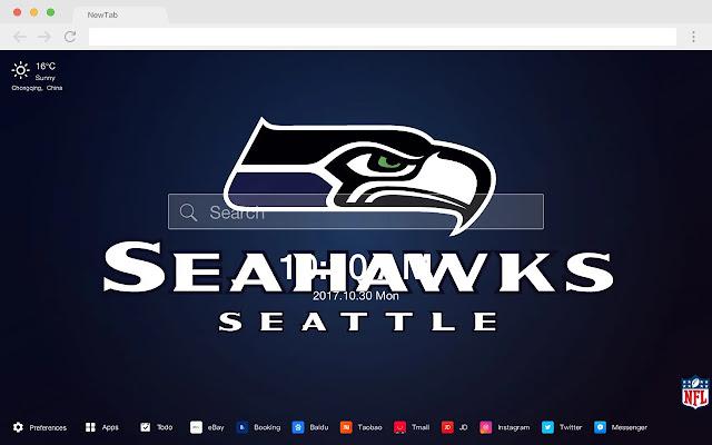 seattle seahawks New Tabs HD Football Themes