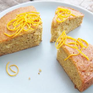 Citrus Vanilla Cauliflower Cake