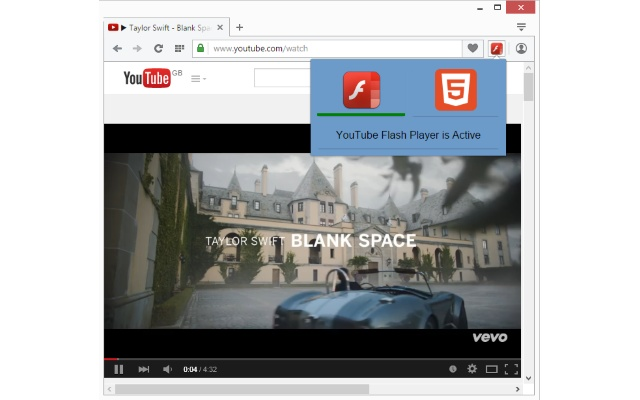 Flash-HTML5 for YouTube™