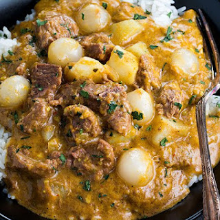 Thai Beef Curry With Coconut Milk Recipes.