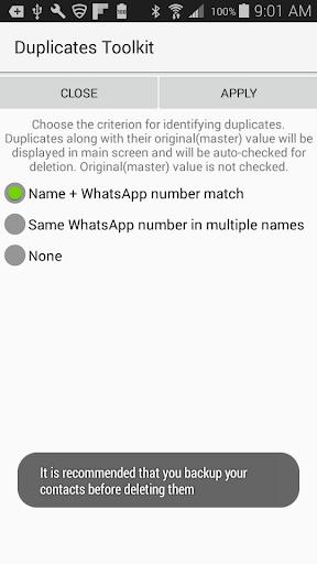 Duplicates for WhatsApp 1.41 screenshots 2