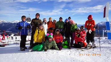 Photo: Die Helden des Skirennens