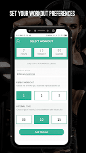 7 Minute Workout – Hipra Fitness App 6