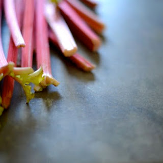 Welcoming Spring with Norwegian Rhubarb Fromage